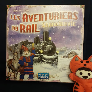 Les Aventuriers du Rail Scandinavie recto