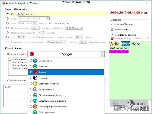 Windows Shutdown Assistant 3.1.1.0 imagenes