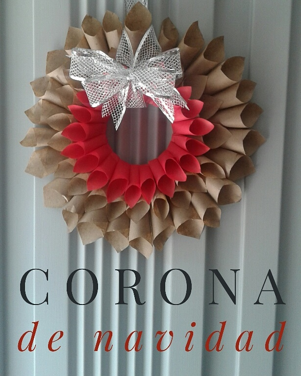 Corona Navideña De Papel Craft Tesa Art Crafts