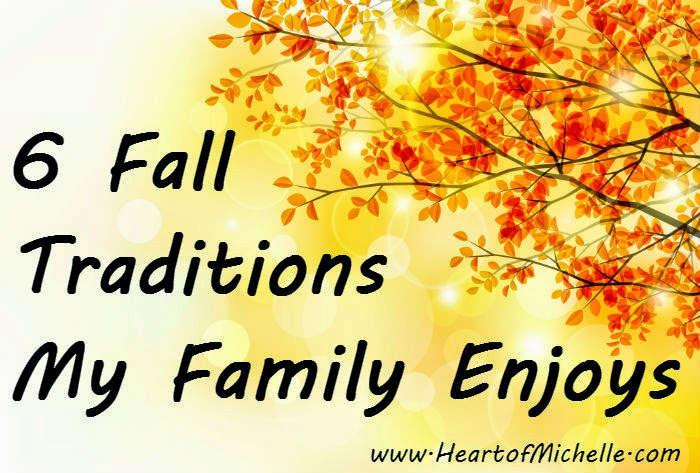 Our family has a list of things we do each and every autumn season. Come find out what they are.