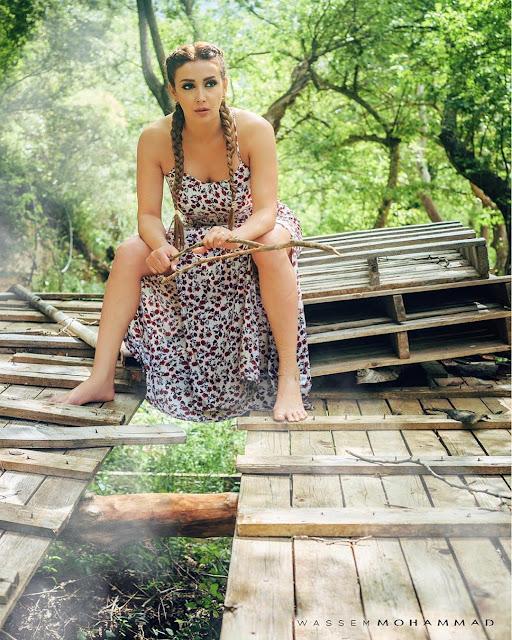 كندا حنا الممثلة الأكثر جرأة وأناقة لصيف 2017