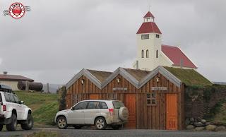 Gasolinera en la Granja Möðrudalur, Islandia