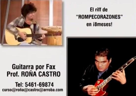 guitarra por fax capusotto