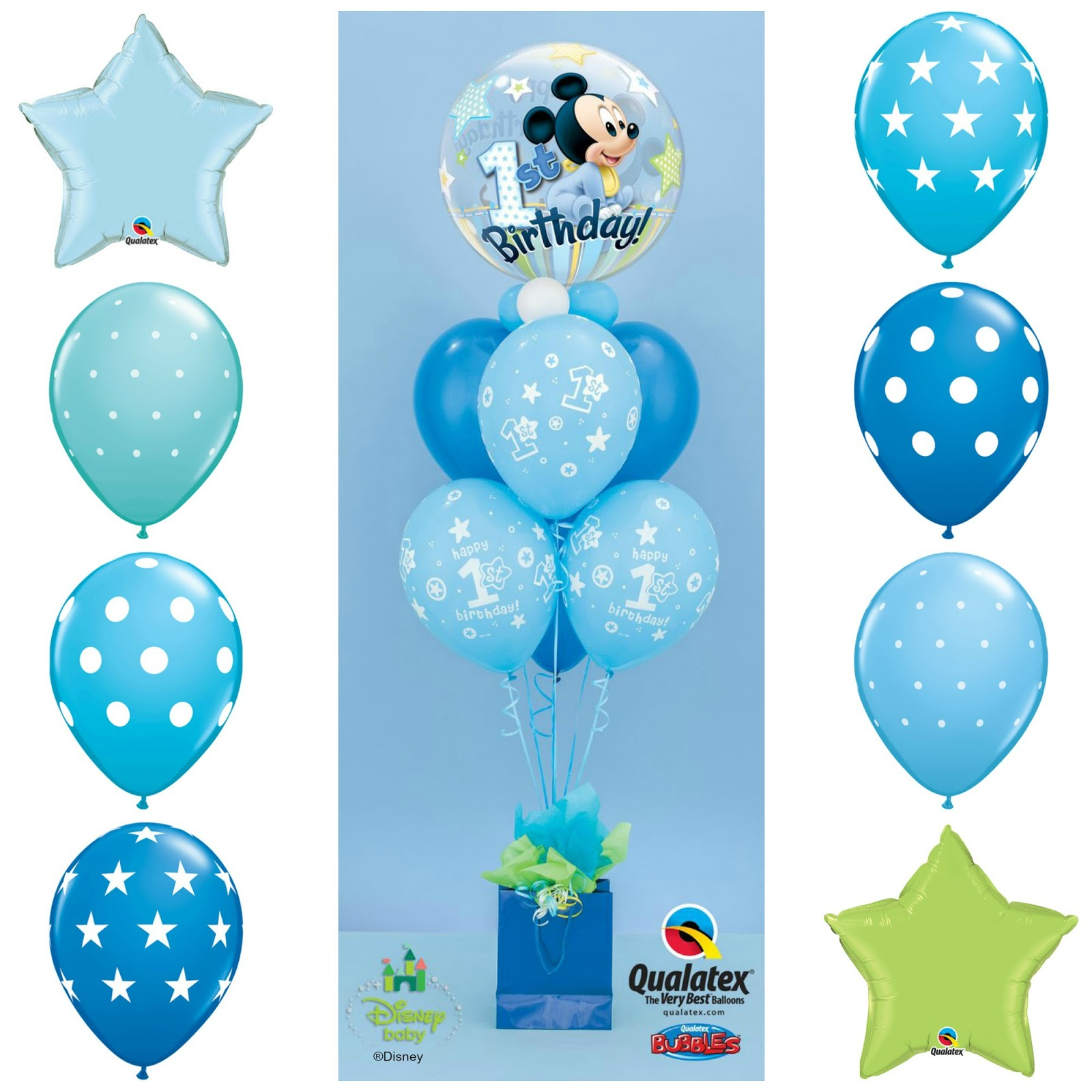 The Very Best Balloon Blog 1st Birthday Celebrations Part 1