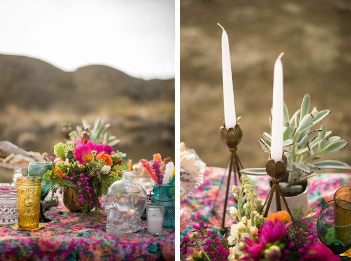 mexican inspired wedding decor / Photography: Font & Figure / Floral: Mac's Floral / Rentals: Hutch Event Rentals