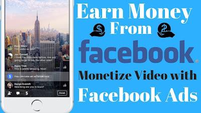 Facebook Ads Break, Cara Mudah Mendapatkan Uang dari Facebook