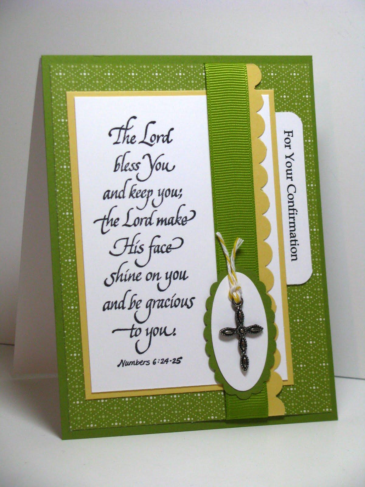 Joyful Creations With Kim Confirmation Card Sweet