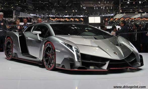 Lamborghini Veneno Safety Features