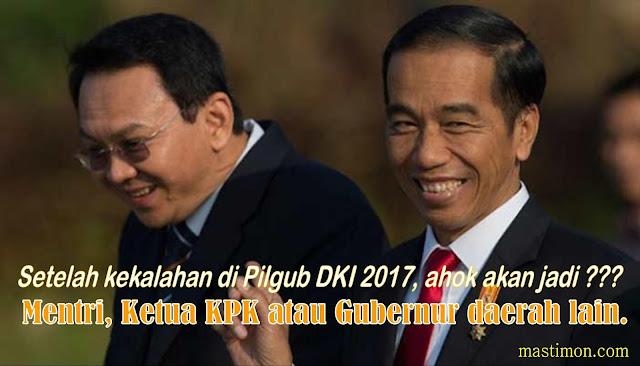 Setelah kalah di Pilgub DKI Jakarta, kemanakah Ahok akan melanjutkan kariernya !!!