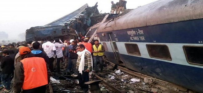 descarrila tren en India