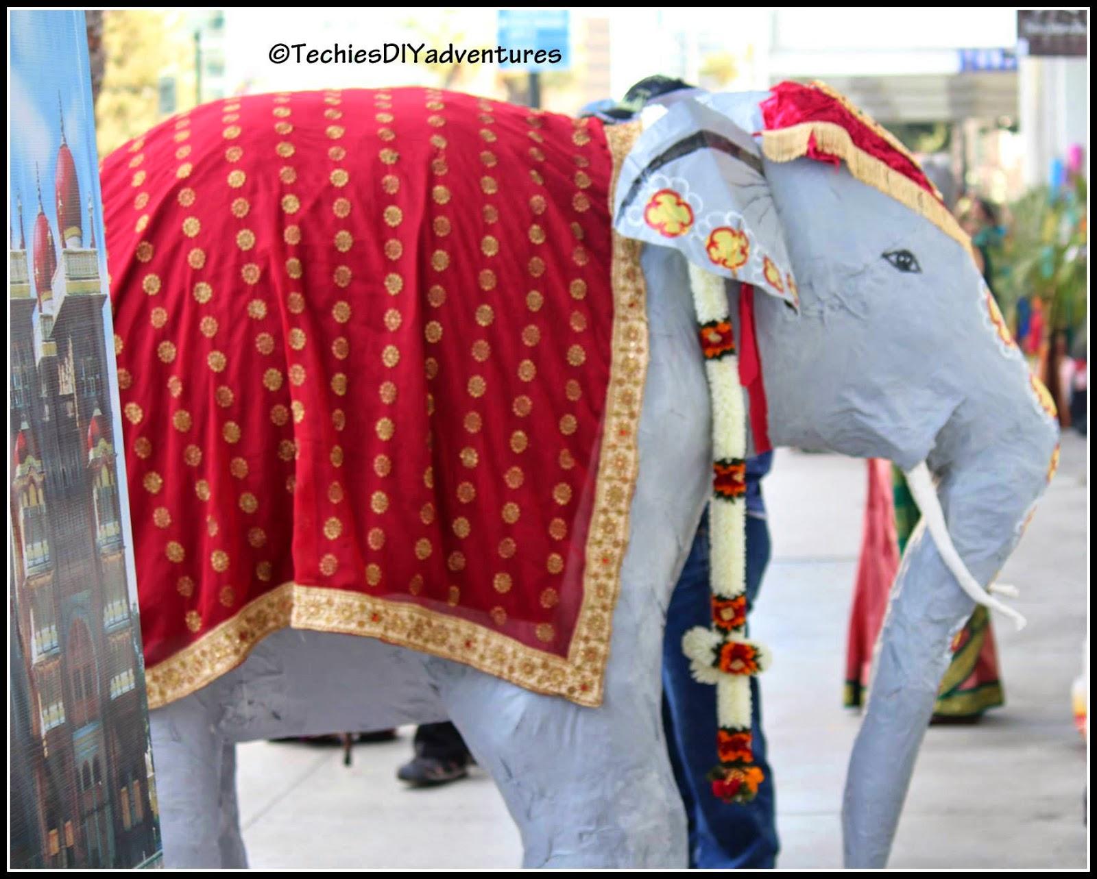 Paper Mache Adult Elephant