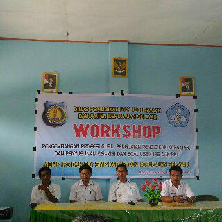 Penutupan Workshop Pembuatan Soal USBN 2017 Selayar