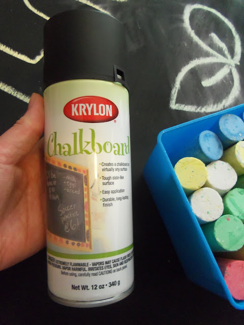 Make your own DIY Indoor Outdoor Chalkboard using Krylon Chalkboard paint and a piece of wood. After 4 years, this is still one of the favorite activities at our house.
