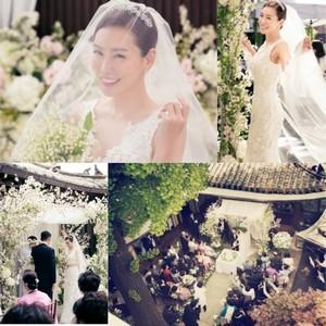 Foto-foto Pernikahan Artis Korea Kim Jung Eun