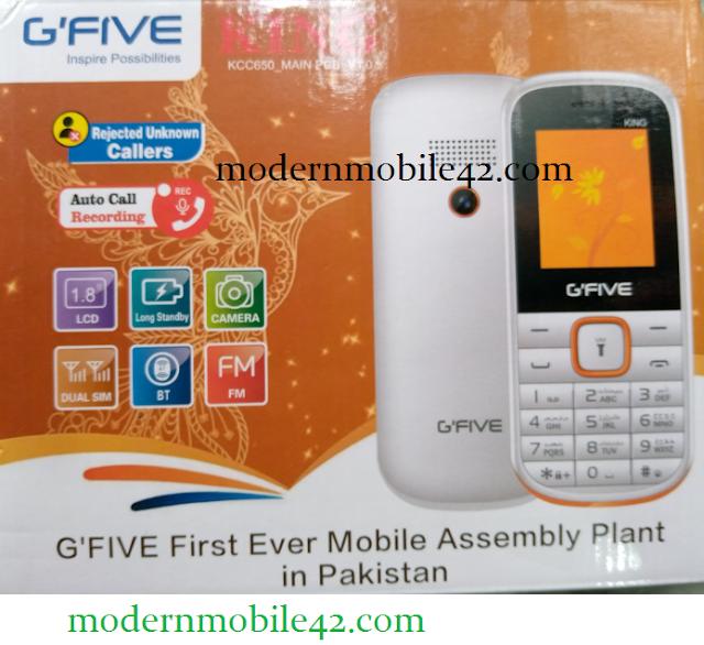 gfive king flash file  cm2