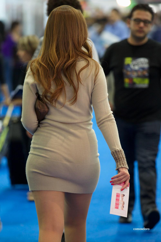 Chicas con falda