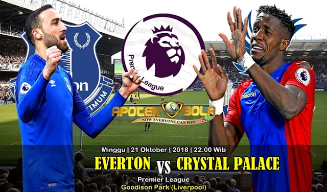 Prediksi Everton Vs Crystal Palace 21 Oktober 2018