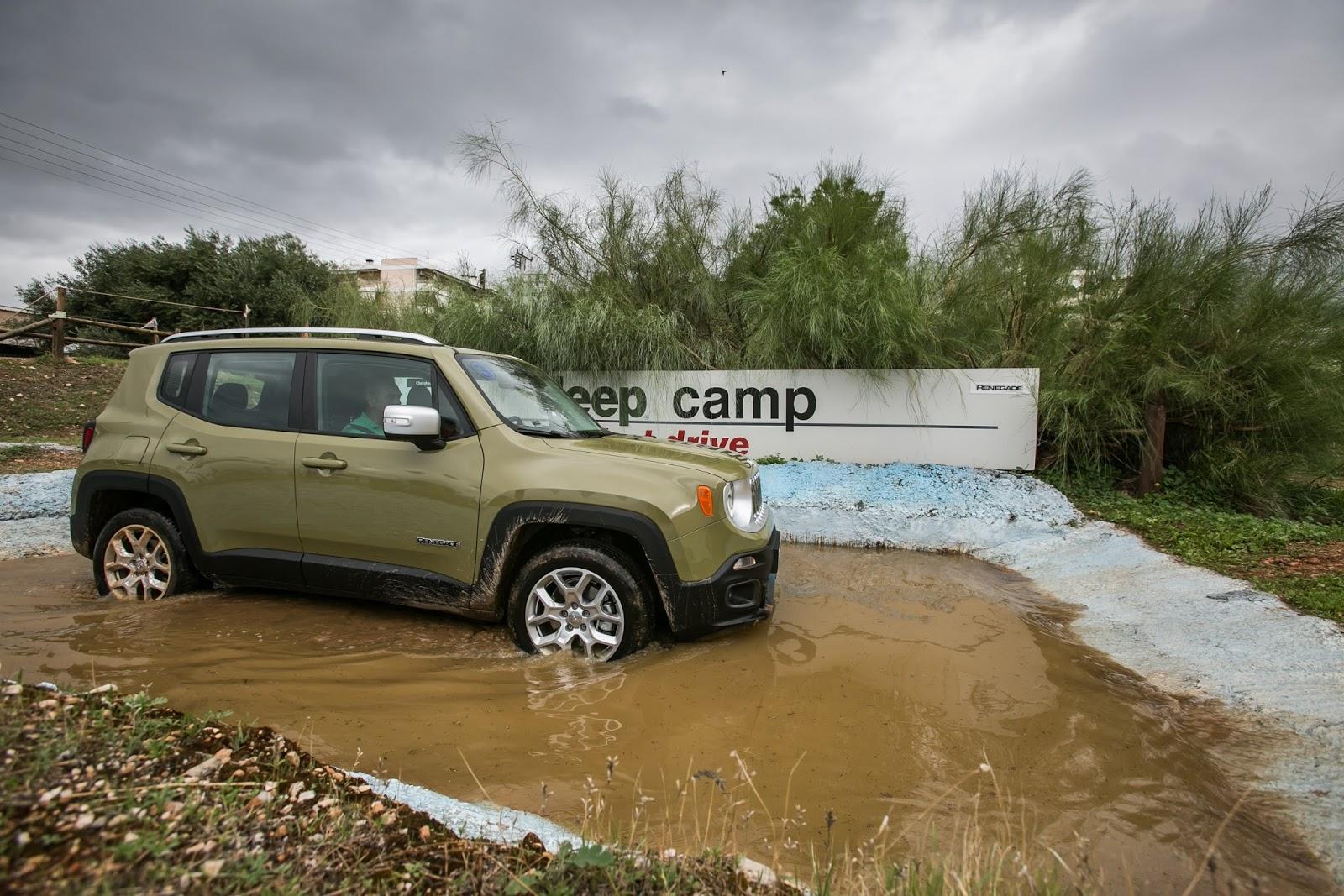 GK 0447 Πετάμε ένα Jeep Renegade σε λάσπες, πέτρες, άμμο, λίμνες. Θα τα καταφέρει; Jeep, Jeep Renegade, Renegade, SUV, TEST, zblog, ΔΟΚΙΜΕΣ