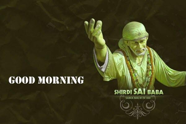 Good Morning Sai Baba Images