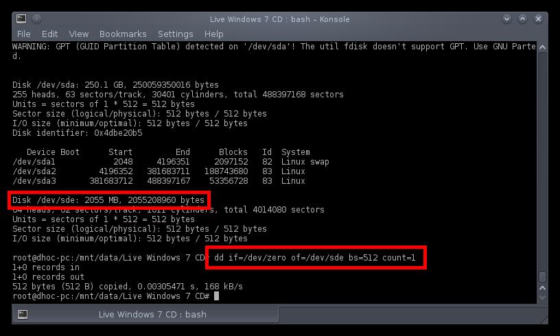 Membuat Windows USB Installer Dengan Linux