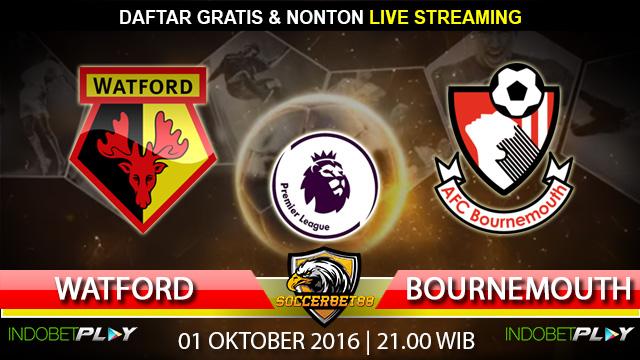 Prediksi Watford vs Bournemouth 01 Oktober 2016 (Liga Inggris)
