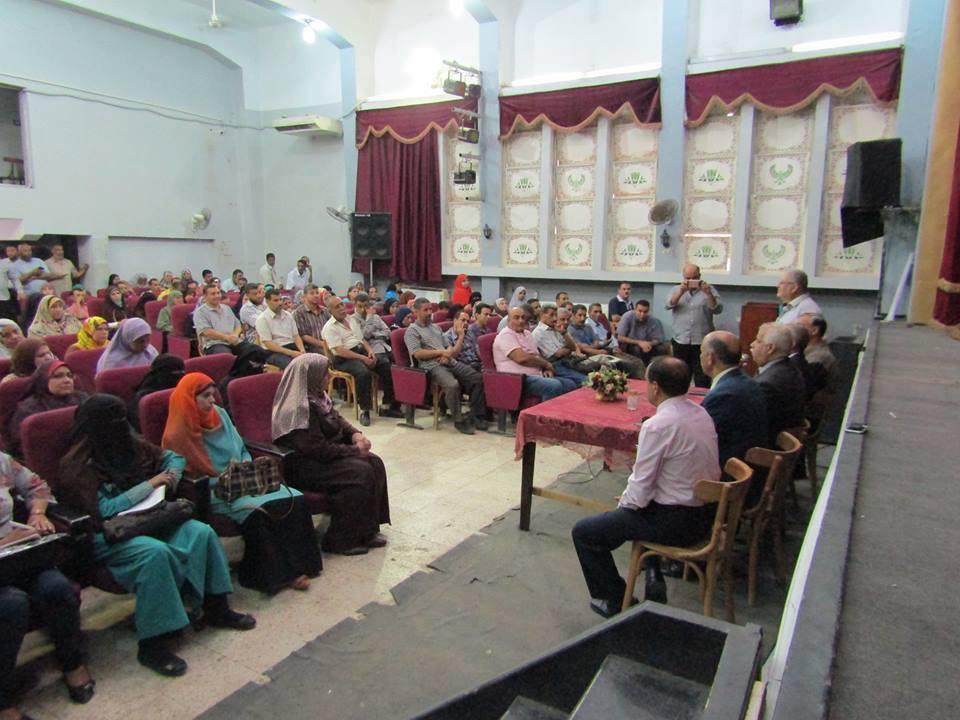 بالصور تعليم الفيوم : اتحاد طلاب مصر يشارك في مؤتمر الإخصائيين بالفيوم