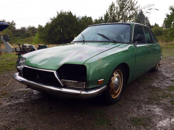 Restoration Project Cars 1973 Citroen Gs Project
