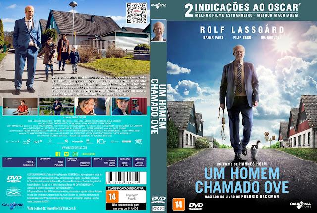 Capa DVD Um Homem Chamado Ove [Custom]