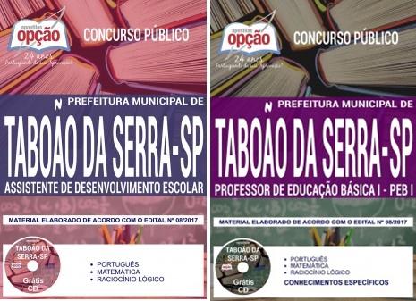 Apostila Prefeitura Taboão da Serra - Assistente de Desenvolvimento Escolar