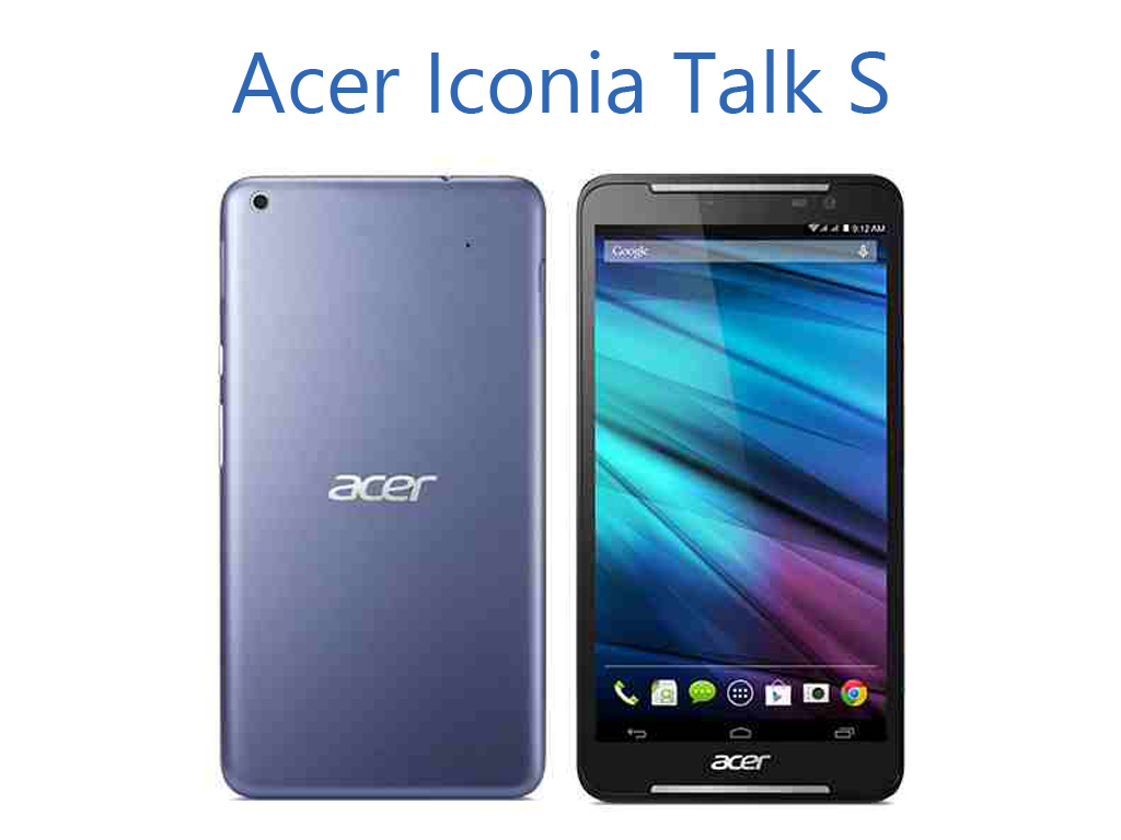 Acer Iconia Talk S, LTE Tablet With Dual SIM Support