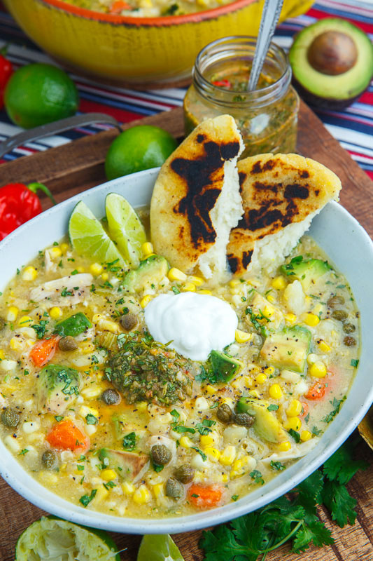 ... colombian ajiaco chicken and potato soup recipe key ingredient