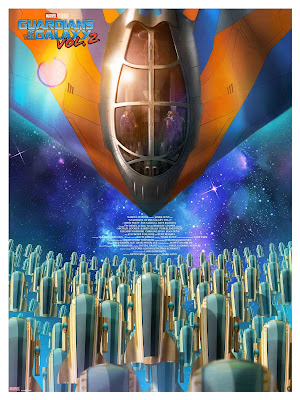 Guardians of the Galaxy Vol. 2 Giclee Print by Andy Fairhurst x Grey Matter Art