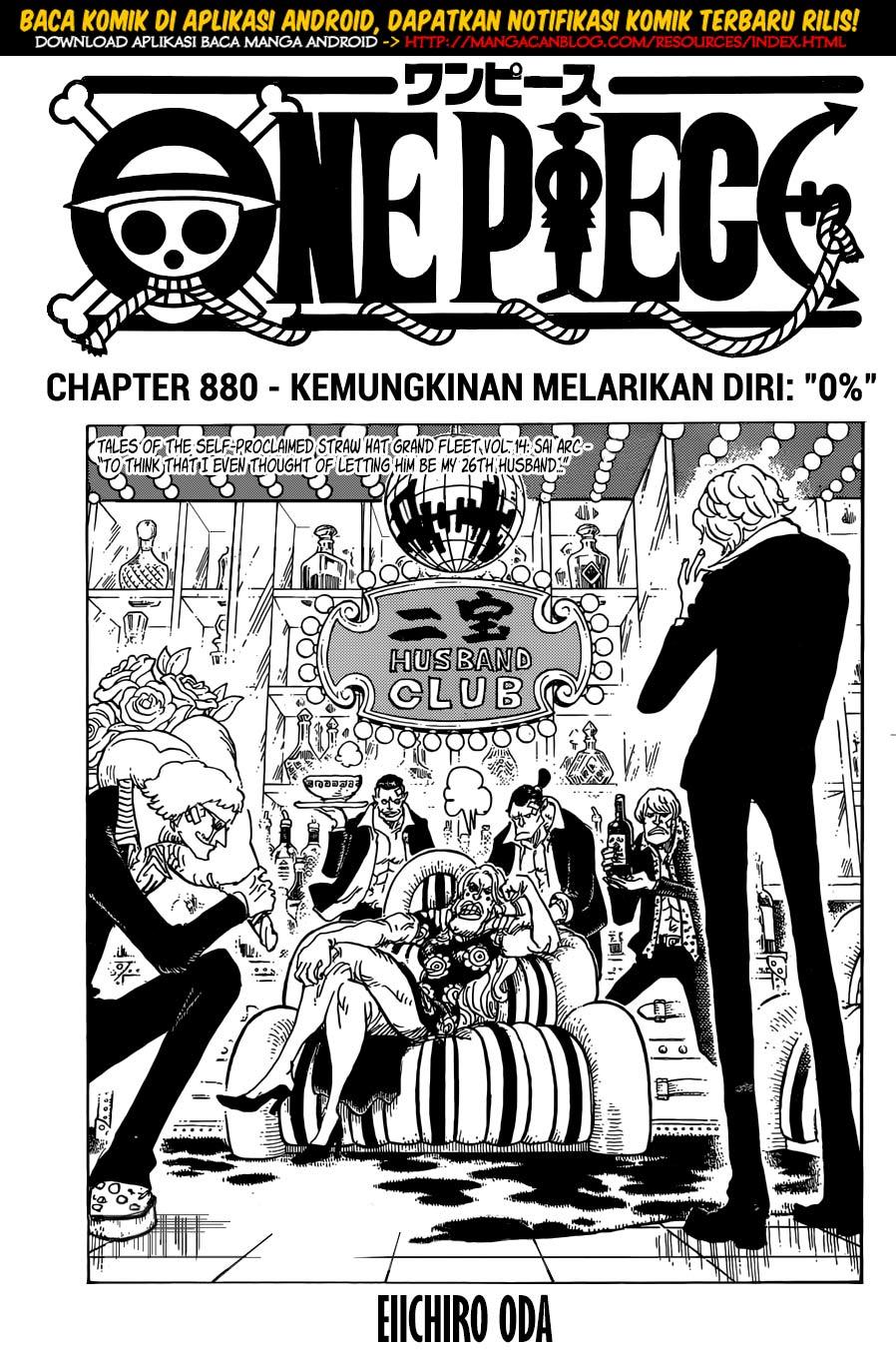 Dilarang COPAS - situs resmi www.mangacanblog.com - Komik one piece 880 - kemungkinan melarikan diri 0 persen 881 Indonesia one piece 880 - kemungkinan melarikan diri 0 persen Terbaru |Baca Manga Komik Indonesia|Mangacan