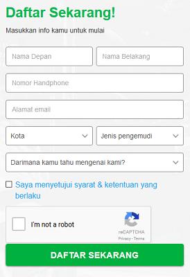 pendaftaran grab online