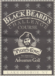 Blackbeard's Challenge course at Pirate's Cove Adventure Golf in Lake George, NY. Donated by Jon Angel