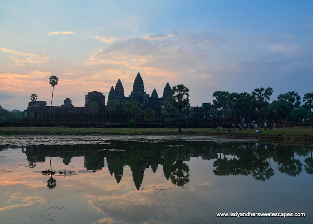 Sunrise Spot in Angkor Wat