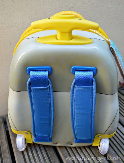Luggo Robot Suitcase Backpack