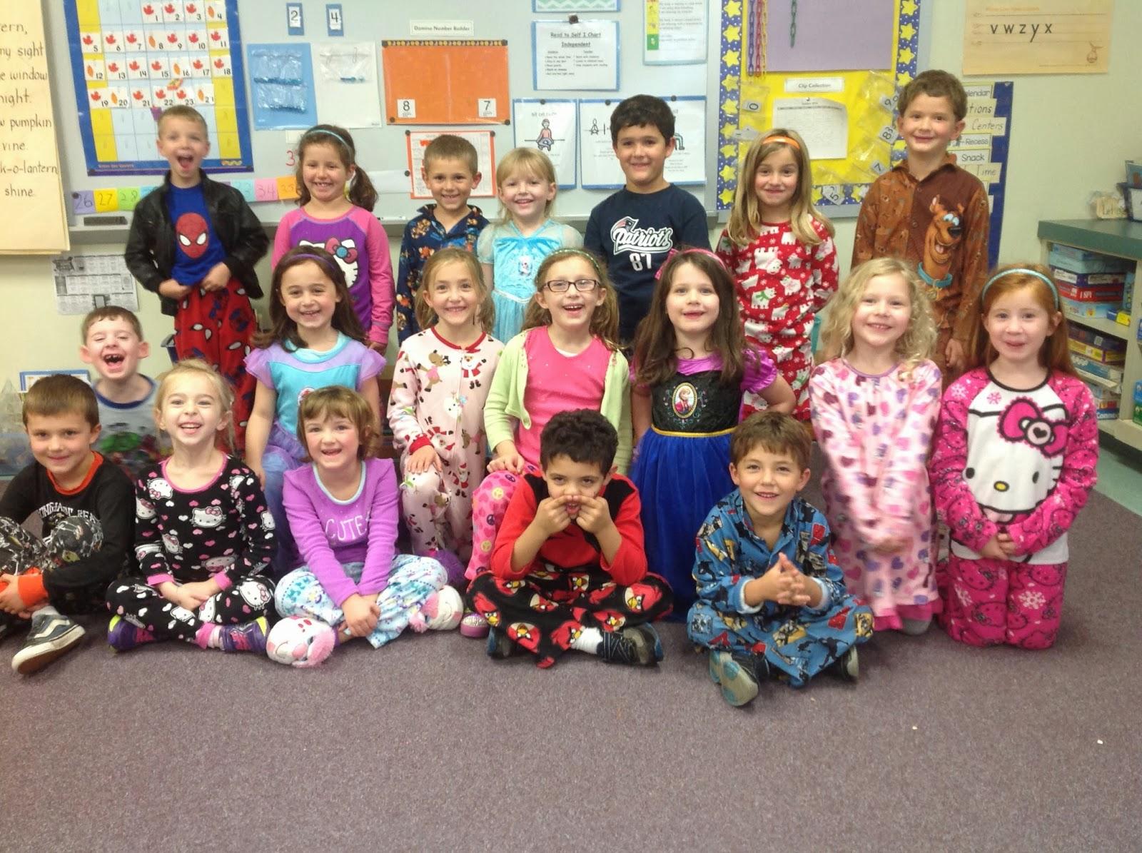 Mrs Craven S Kindergarten Pajama Day