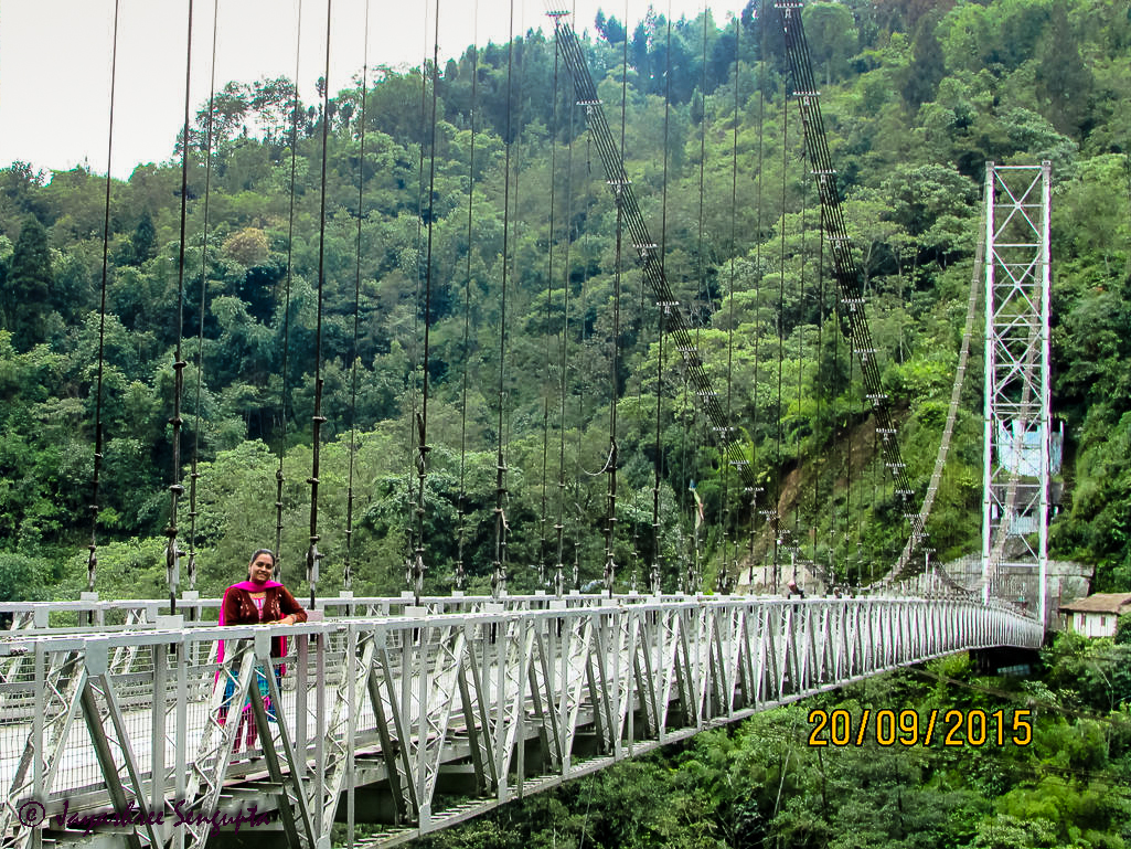 Singhshore Bridge The highest bridge of Sikkim and the second highest suspension bridge in Asia @DoiBedouin