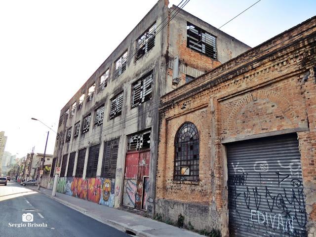 Vista de parte da Antiga Fábrica de Tecidos Labor - Mooca - São Paulo