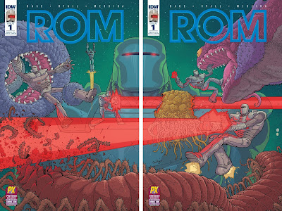San Diego Comic-Con 2016 Exclusive ROM #1 Variant Cover A & Cover B by Nick Pitarra