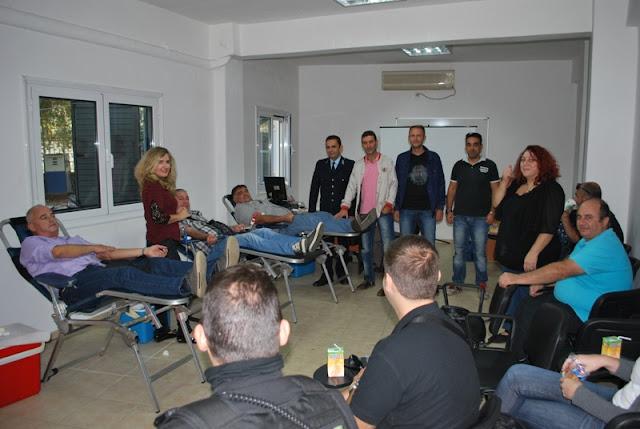 Εθελοντική αιμοδοσία του προσωπικού της Ελληνικής Αστυνομίας (+ΦΩΤΟ)