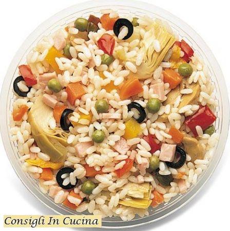 Consigli in cucina ricetta insalata di riso tradizionale for Ricette insalate