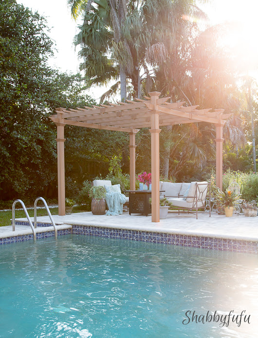 Our New Beautiful and Low Maintenance Pergola!