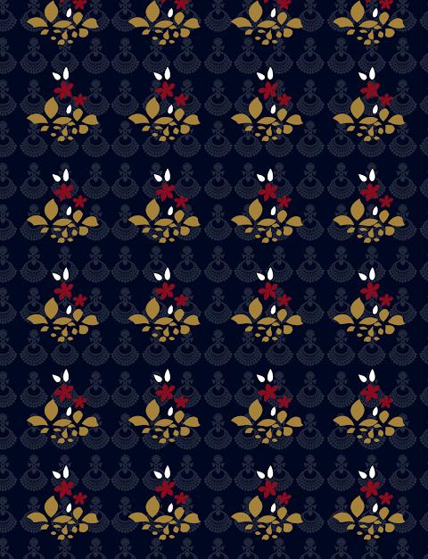 Vector background pattern textile design
