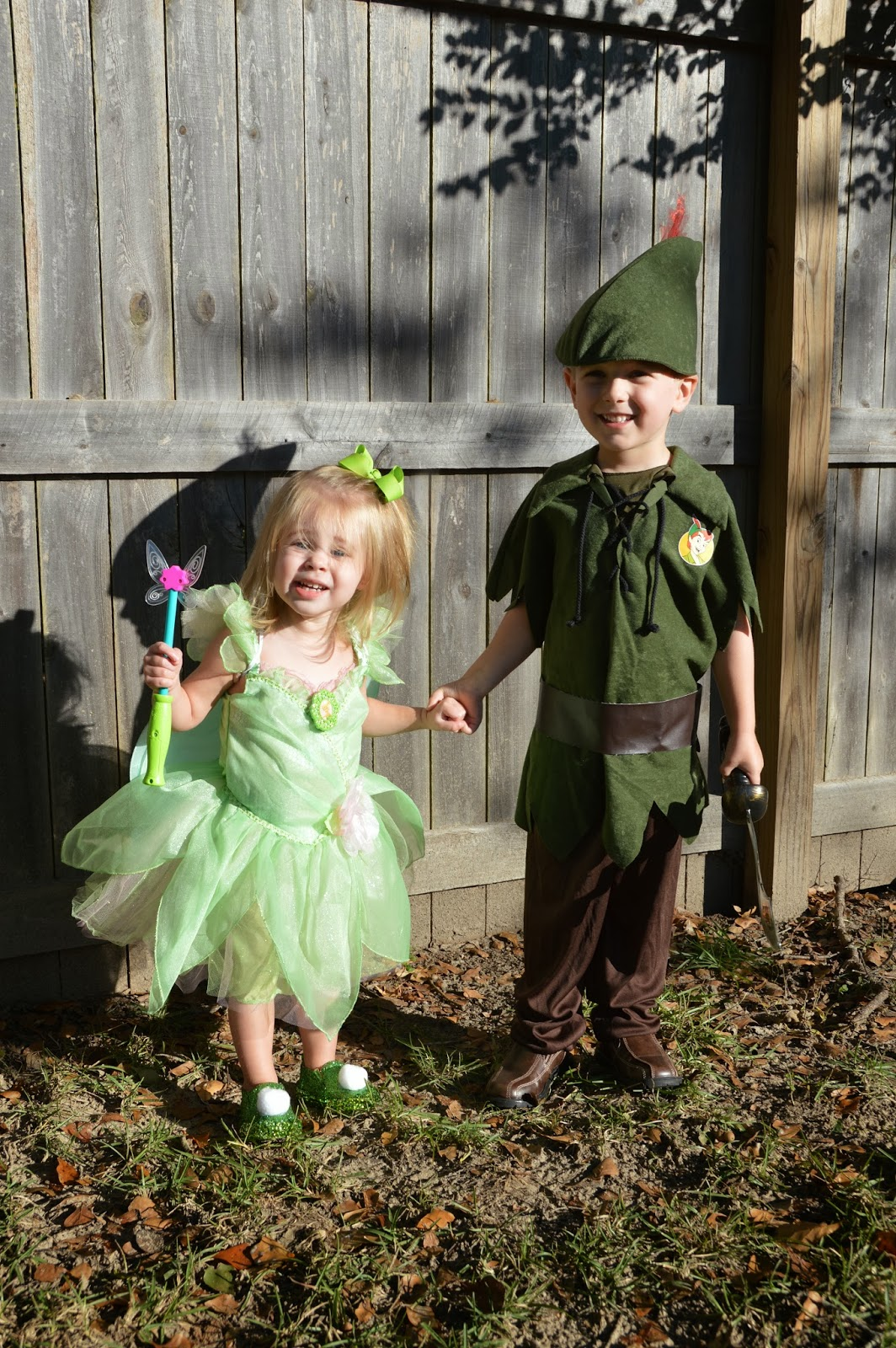 peter pan family costumes
