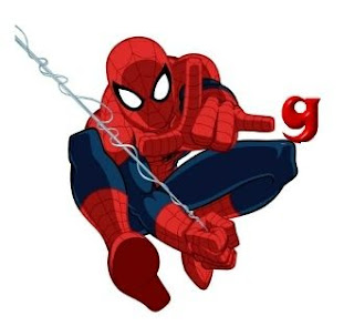 Abecedario de Spiderman con Letras Pequeñas. Spiderman Alphabet with small Letters.
