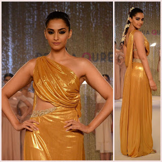 Sonam Kapoor Sizzles on the Ramp for Pernia Qureshi Fashion Show