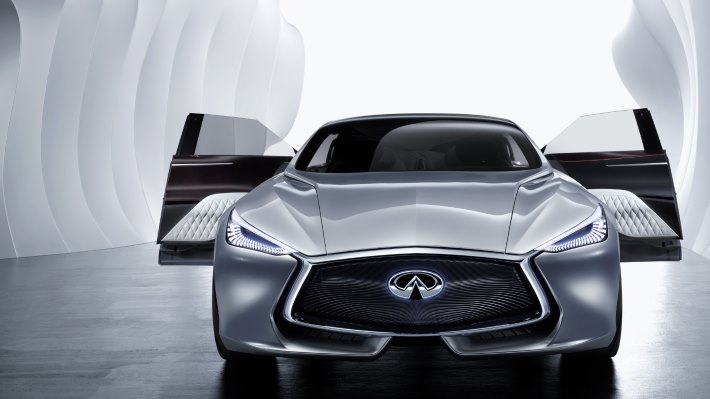 Wallpaper 4: Infiniti Q80 Inspiration front side
