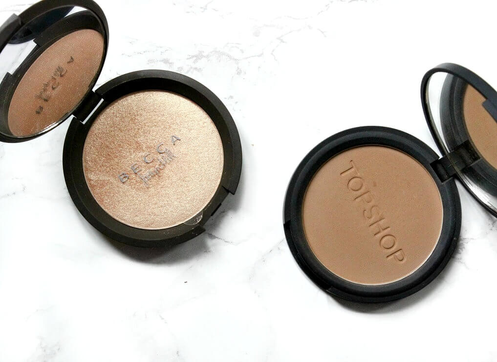 becca champagne pop highlighter UK Topshop mohawk bronzer
